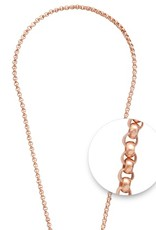 "Nikki Lissoni Nikki Lissoni 24"" Rose Gold Plated Necklace"