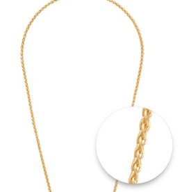 "Nikki Lissoni Nikki Lissoni 24"" Gold Chain Necklace"