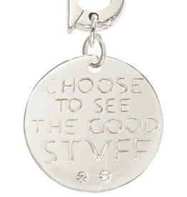 Nikki Lissoni 'Choose to See the Good Stuff' 20mm Charm