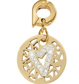 Nikki Lissoni 'Surrounded by Hearts' 15mm Charm