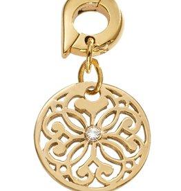 Nikki Lissoni 'Baroque Fantasy' 15mm Gold Charm