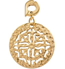 Nikki Lissoni 'Nikki's Ancient Coin' 25mm Gold Charm