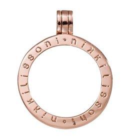 Nikki Lissoni Small Rose Gold Pendant