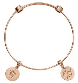 Nikki Lissoni Made with Love' Charm Bangle