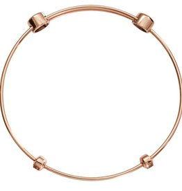stoppers bangle bangles of charm vermeil rose zoom gold x women links london
