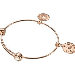 Nikki Lissoni 'Be Who You Are' RG Charm Bangle