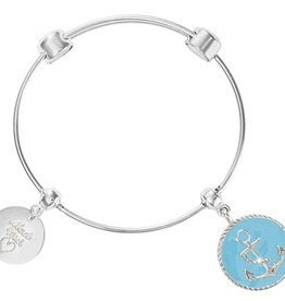 Nikki Lissoni 'Hope for Something Blue' Charm Bangle