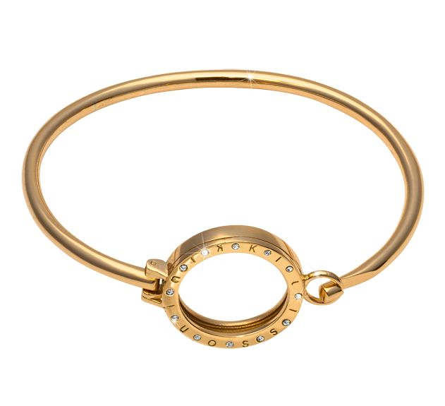 Nikki lissoni 7 small gold pendant bangle golden karat jewelers nikki lissoni 7 small gold pendant bangle aloadofball Choice Image