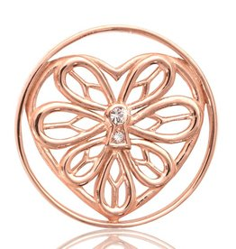 Nikki Lissoni 'Peaceful Heart' Medium RG Coin