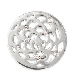 Nikki Lissoni 'Sunflower' Small Silver Coin