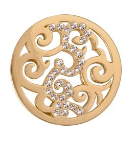 Nikki Lissoni 'Baroque' LE Small Gold Coin