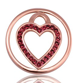 Nikki Lissoni 'Love Keeper' Small LE Rose Gold Coin