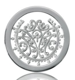 Nikki Lissoni 'Bouquet of Memories' Small Silver Coin
