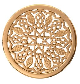Nikki Lissoni 'Indian Summer' Medium Gold Coin