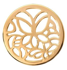Nikki Lissoni 'Butterfly' Medium Gold Coin