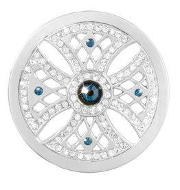 Nikki Lissoni 'Something Blue' Vintage Style Medium Coin