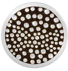 Nikki Lissoni 'White Smoke'  Medium Silver Coin
