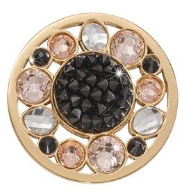 Nikki Lissoni 'Sunflower Rock Crystal' Medium Coin