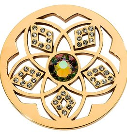 Nikki Lissoni 'Charming Flower' Medium Coin