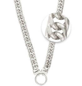 "Nikki Lissoni 20"" Large Link Double Curb Necklace"