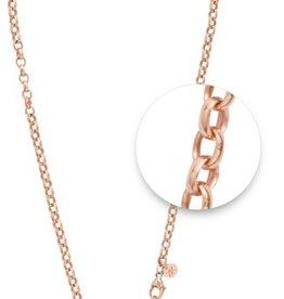 "Nikki Lissoni 18"" Rose Gold Necklace"