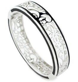 AHC Perception Lace Silver Bangle