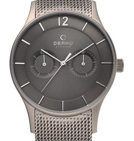 Obaku Watches Men's Vild - Titanium & Stainless Steel