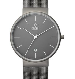 Obaku Watches Men's Klar Titanium Watch