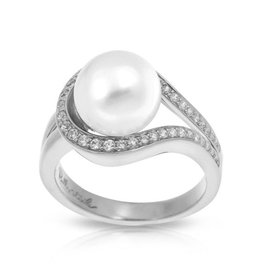 Belle Etoile Claire Collection Pearl Ring