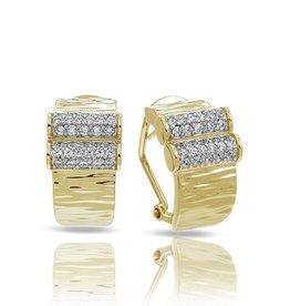 Belle Etoile Heiress 18K Gold Vermeil Earrings
