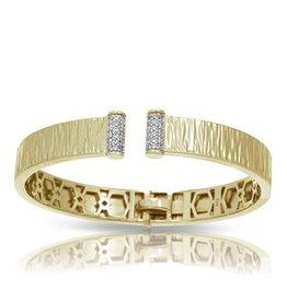 Belle Etoile Heiress 18K Gold  Vermeil Bangle