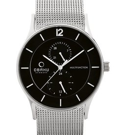 Obaku Watches Men's Torden - Onyx
