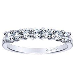 Gabriel & Co. 14K Round Diamond Band .52 ctw