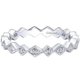 Gabriel & Co. 14K Diamond Stackable Ring .20 ctw