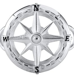 LeStage Sterling Compass Rose Clasp
