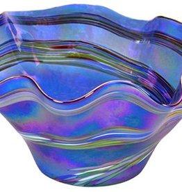 Blue Rainbow Floppy Bowl