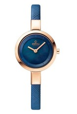 Obaku Watches Ladies Siv - Navy Blue