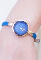 Obaku Watches Ladies Siv - Navy Blue