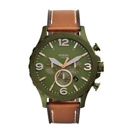 The Fossil Group Nate Chronograph Olive Green