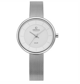 Obaku Watches Women's Lys Solar Powered - Steel