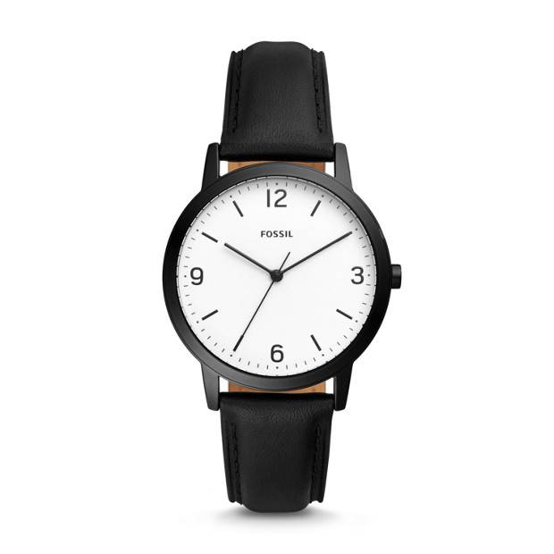 The Fossil Group Blake Leather Watch