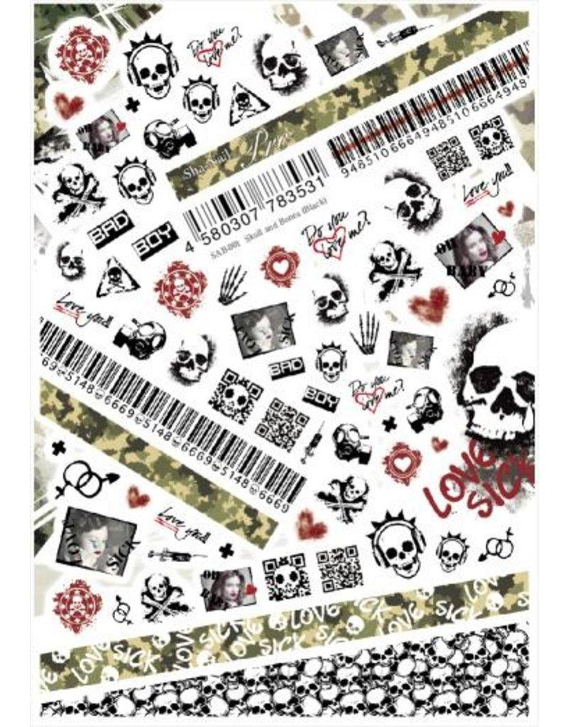 Skull and Bones (Black)