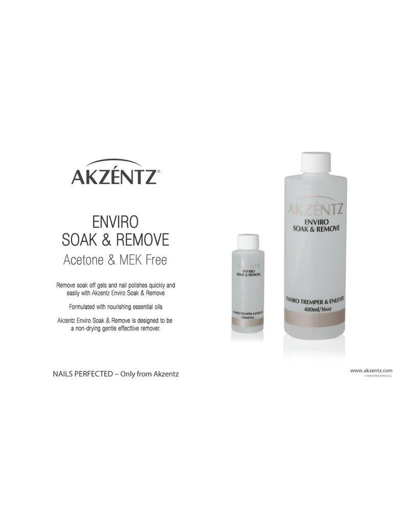 Akzentz Enviro Soak & Remove 480ml