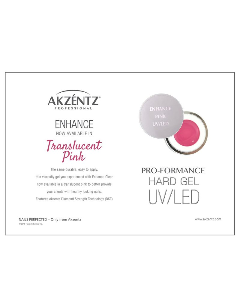 Akzentz Enhance Translucent Pink 7g