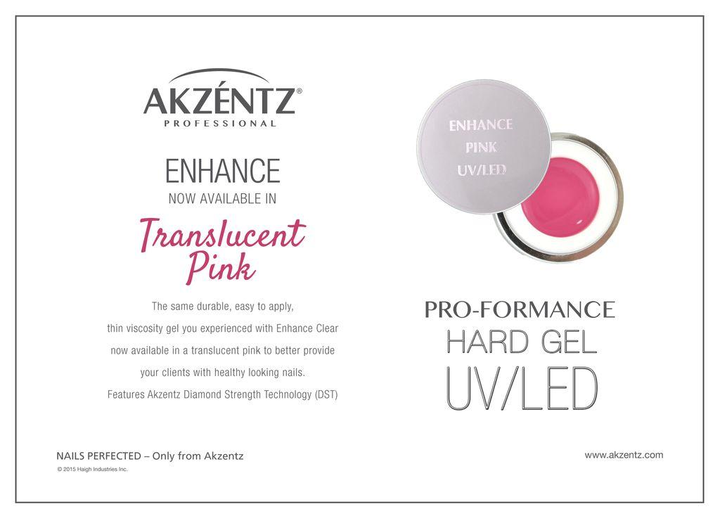 Akzentz Enhance Translucent Pink 7g