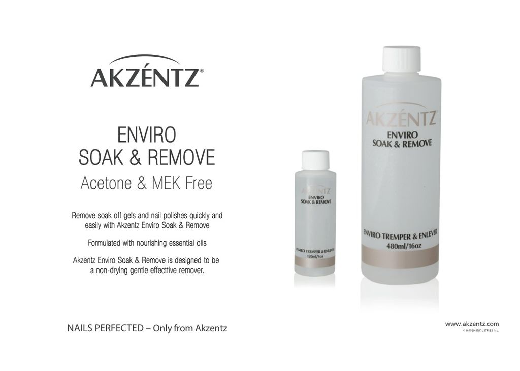 Akzentz Enviro Soak & Remove 120ml
