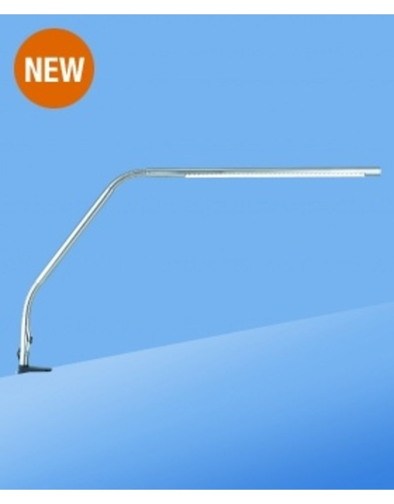 Daylight LED Slimline Table Lamp-Chrome