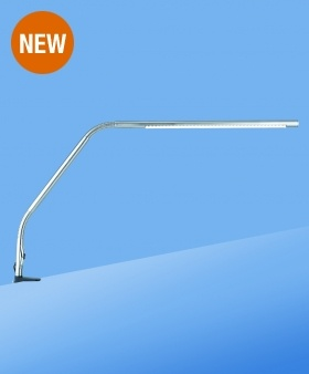Daylight LED Slimline Table Lamp-Chrome