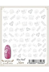 Pop Stamps 1 (White)