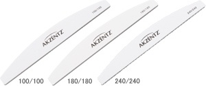 White 150/150 Curved Files